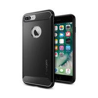Spigen Rugged Armor Hülle iPhone 7 Plus 8 Plus Hülle - Schwarz