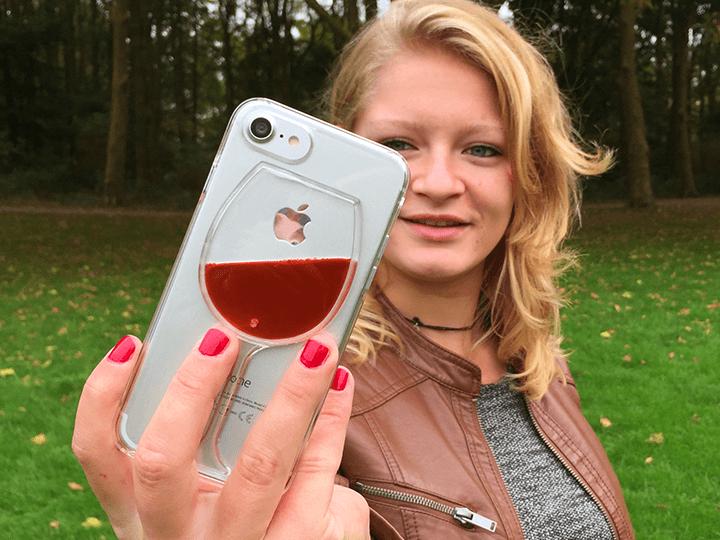 Weinglas iPhone Hülle